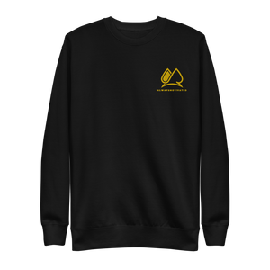 Always Motivated  Sweatshirt - Black/Gold