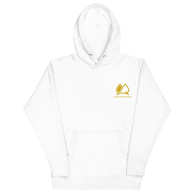 Always Motivated Hoodie - White/Gold