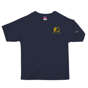 Always Motivated x Champion T-shirt - Navy/Gold
