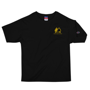 Always Motivated x Champion T-shirt - Black/Gold