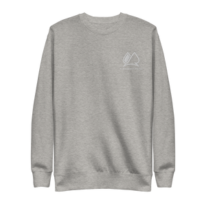 Always Motivated Sweatshirt - Grey/ White