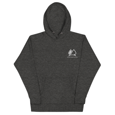 Always Motivated Hoodie -Charcoal/White