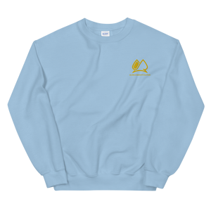 Always Motivated Sweatshirt -Light-Bleu/Gold
