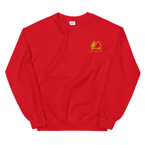 Always Motivated Sweatshirt -Red/Gold