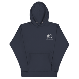 Always Motivated Hoodie - Navy/White