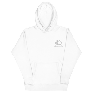 Always Motivated Hoodie -White/White
