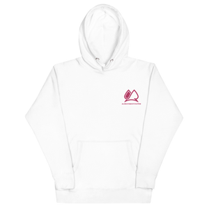 Always Motivated Hoodie - White/Pink