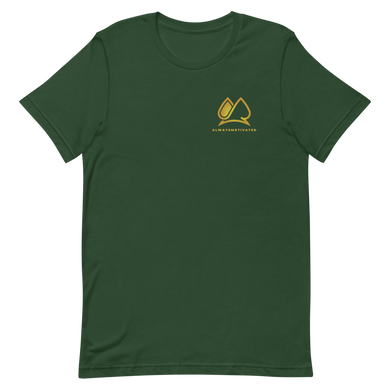 Always Motivated T-Shirt (Green/Gold)