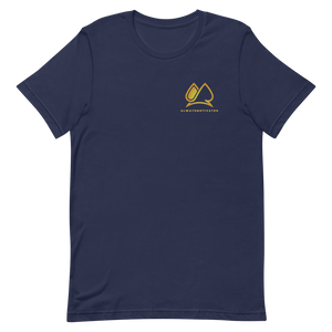 Always Motivated T-Shirt (Navy/Gold)