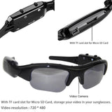 Sunglasses With Built-In Digital Video Recorder Camera