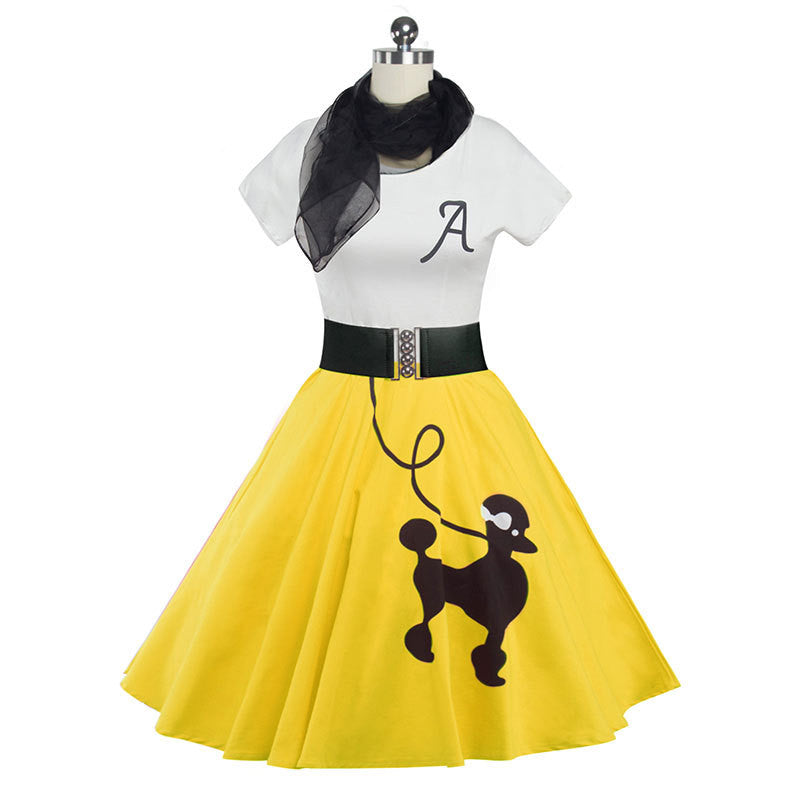 fabulous retro poodle skirt and top 108bay
