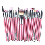 20pc Women's Makeup Brush Set