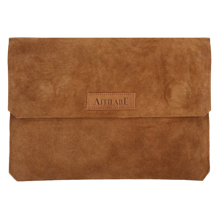 "Affilare 13"" Genuine Leather Laptop Bag Sleeve Surface Macbook Dell 12SL001"