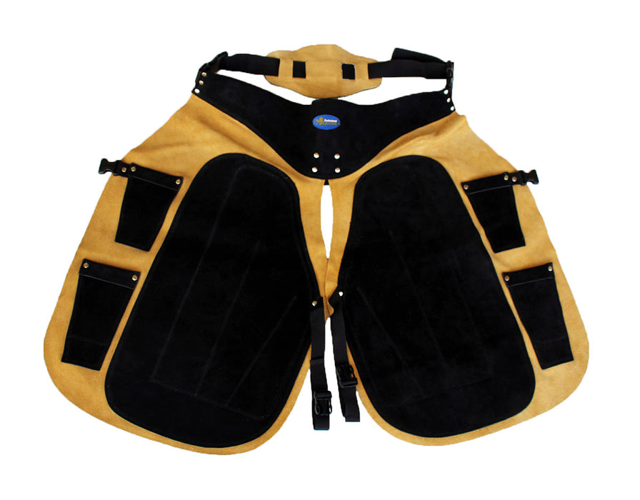Pro Equine Western Leather Fully Adjustable Horse Farrier Apron Fits ALL 23113
