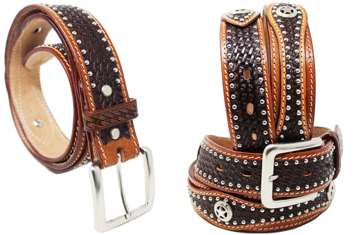30-60 HEAVY DUTY HAND MADE BUFFALO HIDE LEATHER GUN HOLSTER BELT 2623RS
