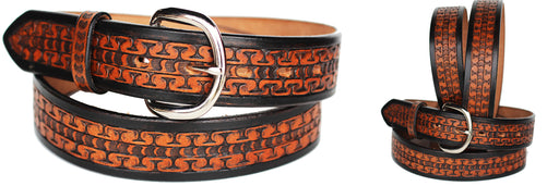 32-60 ProRider HEAVY DUTY HAND MADE  COWHIDE LEATHER STICHED BELT 2626RS