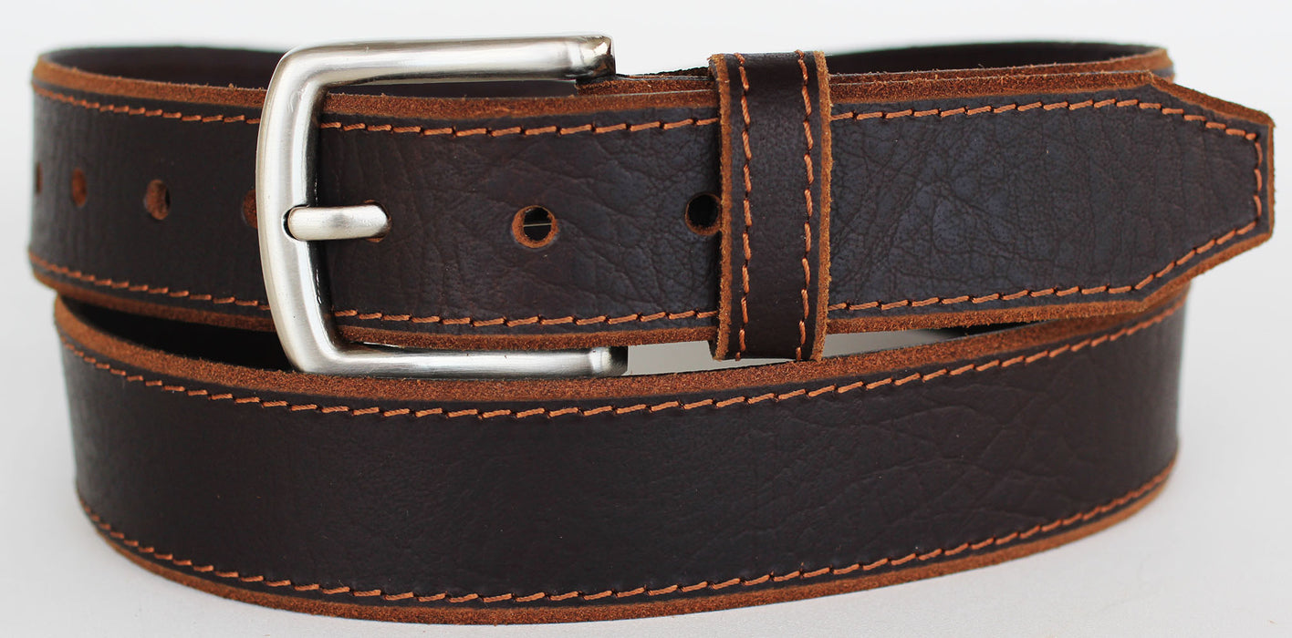 Handmade Heavy Duty Men's Dress Casual Cow Leather Belt 262930RS