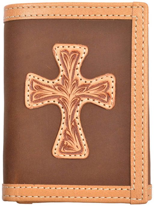 Justin Brown Western Trifold Wallet 27WJB102