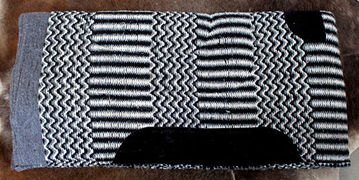 Acrylic Western Show Horse Trail SADDLE PAD Rodeo Blanket Double Weave 3412