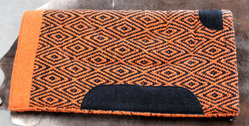Acrylic Western Show Horse Trail SADDLE PAD Rodeo Blanket Double Weave 3438