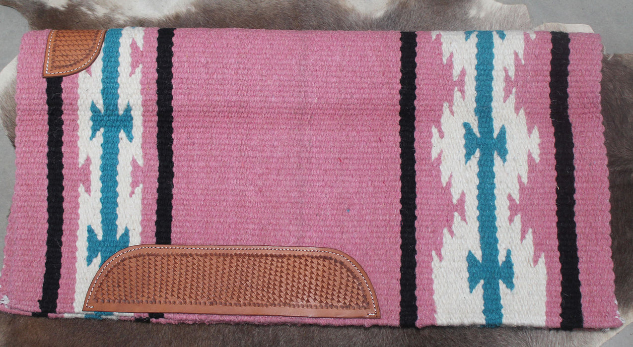 34x36 Horse Wool Western Show Trail SADDLE BLANKET Rodeo Pad Rug  36138