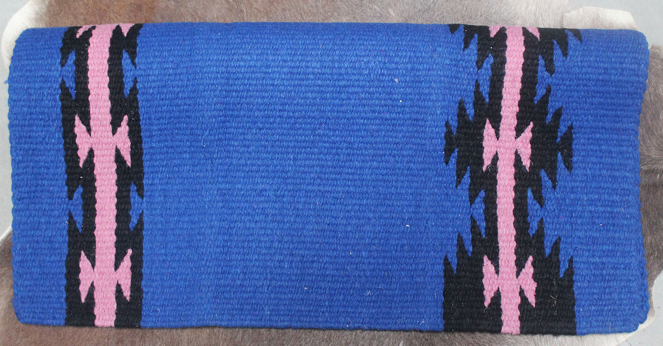 34x36 Horse Wool Western Show Trail SADDLE BLANKET Rodeo Pad Rug  36141