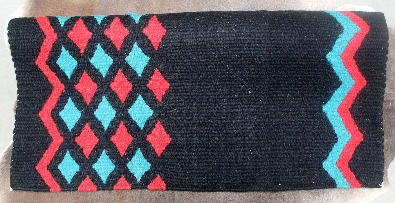 34x36 Horse Wool Western Show Trail SADDLE BLANKET Rodeo Pad Rug  36142