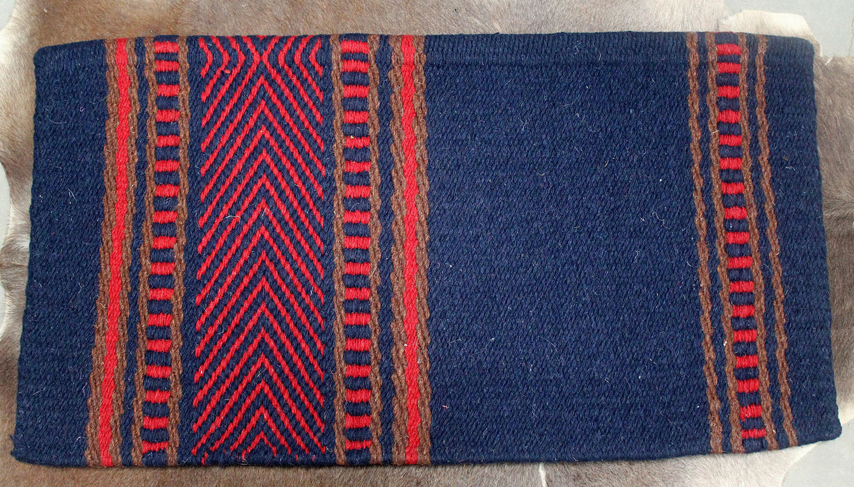 34x36 Horse Wool Western Show Trail SADDLE BLANKET Rodeo Pad Rug  36148