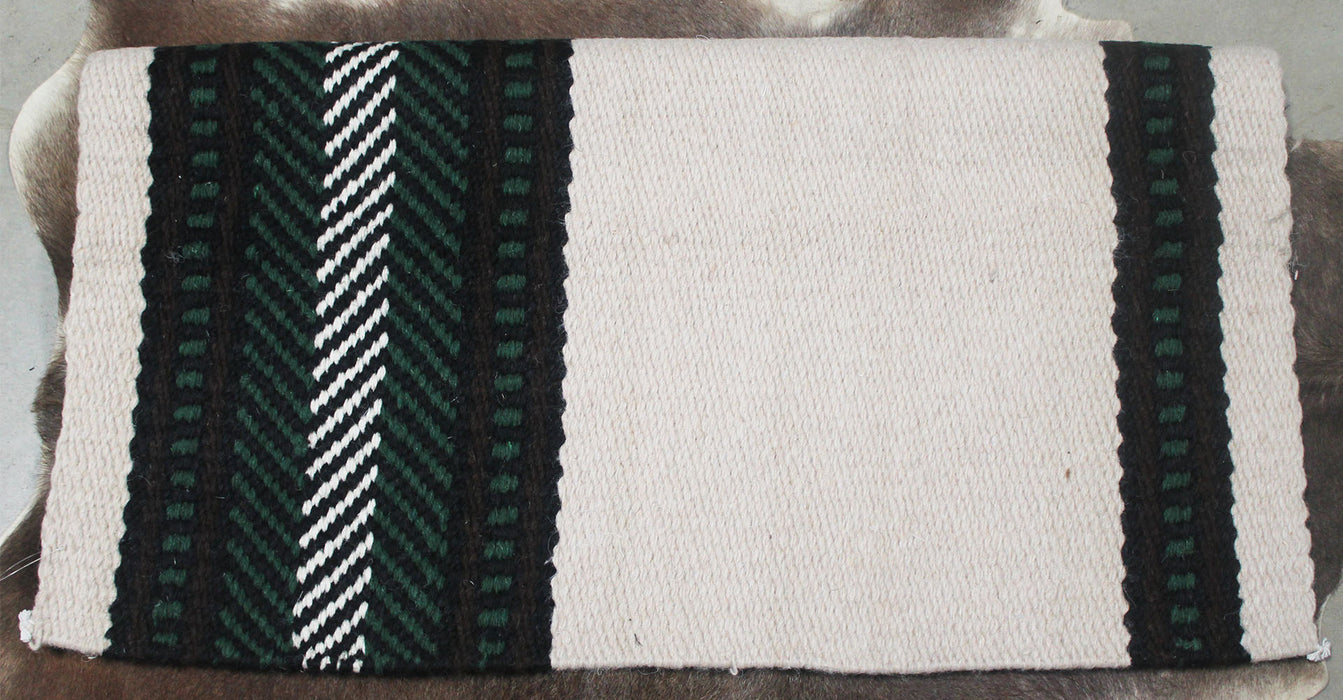 34x36 Horse Wool Western Show Trail SADDLE BLANKET Rodeo Pad Rug  36162