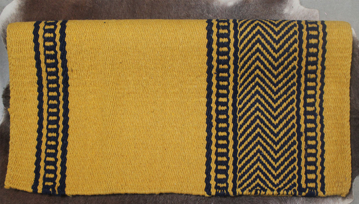 34x36 Horse Wool Western Show Trail SADDLE BLANKET Rodeo Pad Rug  36164