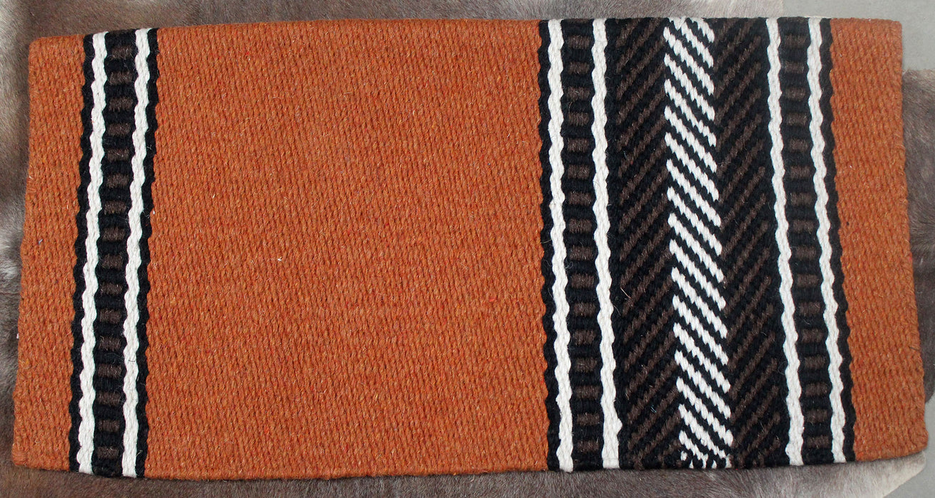 34x36 Horse Wool Western Show Trail SADDLE BLANKET Rodeo Pad Rug  36166