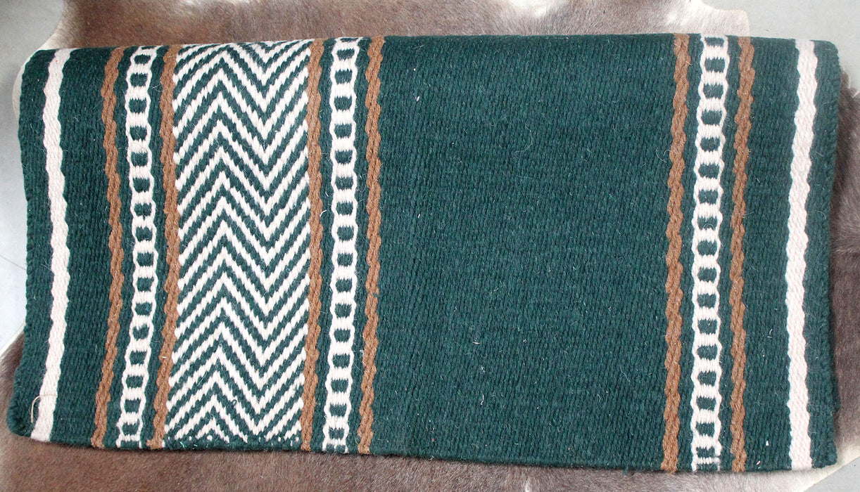 34x36 Horse Wool Western Show Trail SADDLE BLANKET Rodeo Pad Rug  36168