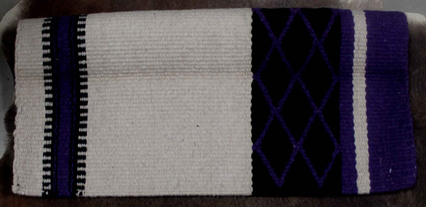 34x36 Horse Wool Western Show Trail SADDLE BLANKET Rodeo Pad Rug  36172