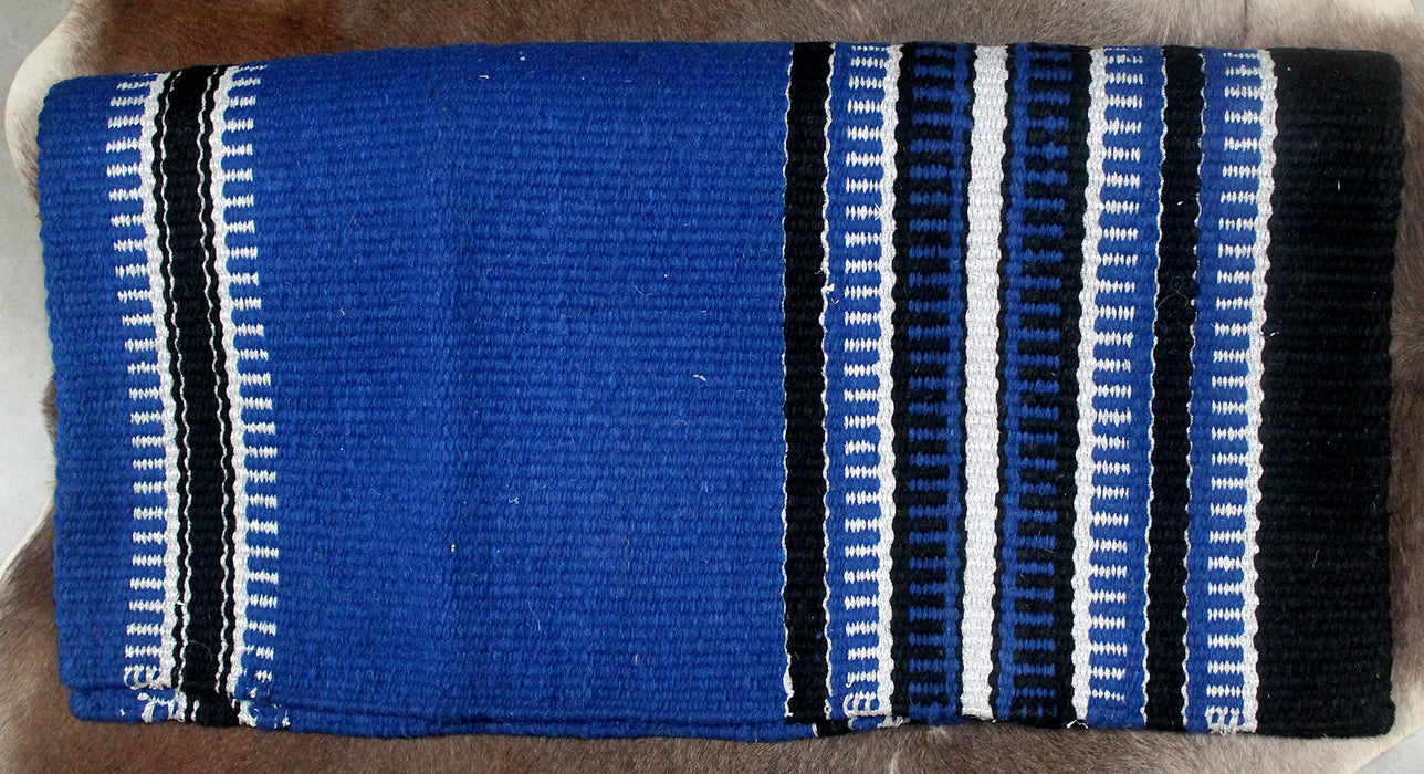 34x36 Horse Wool Western Show Trail SADDLE BLANKET Rodeo Pad Rug  36189