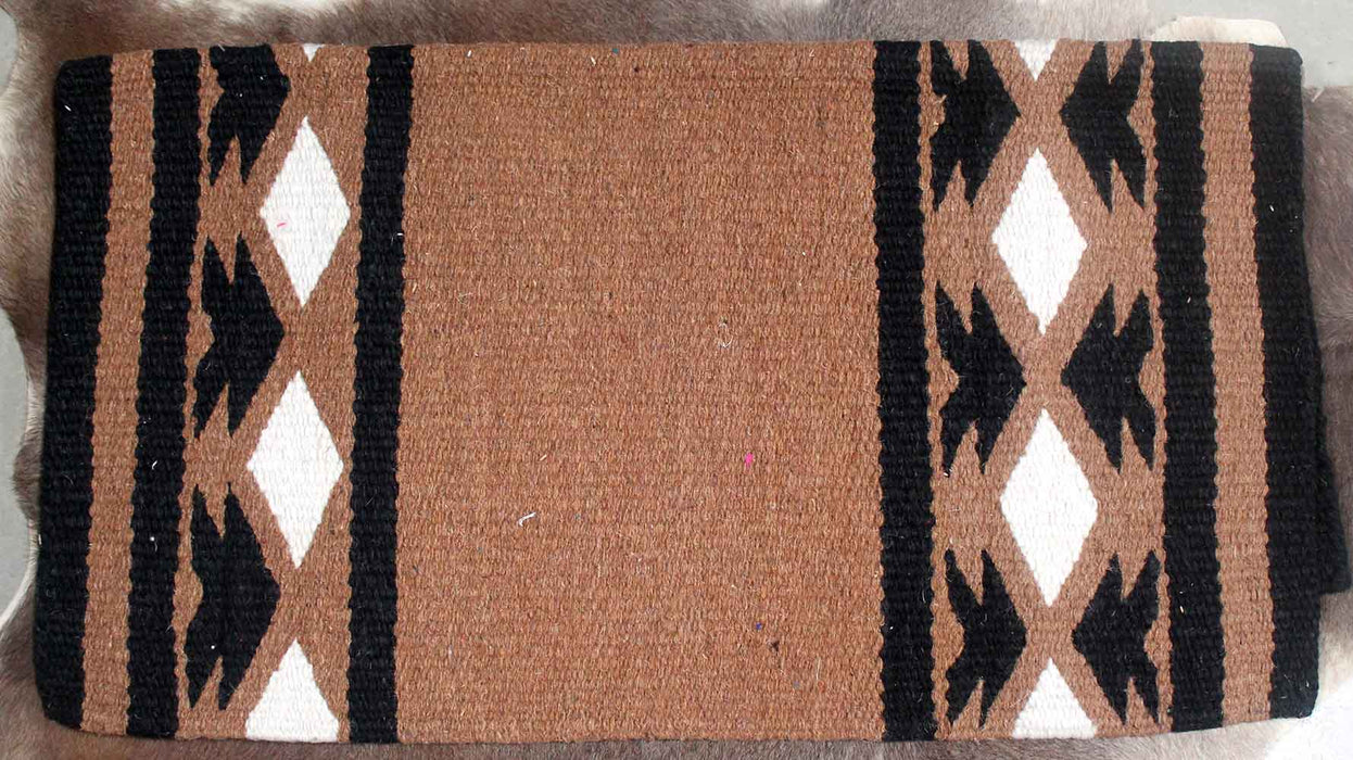 34x36 Horse Wool Western Show Trail SADDLE BLANKET Rodeo Pad Rug  36202