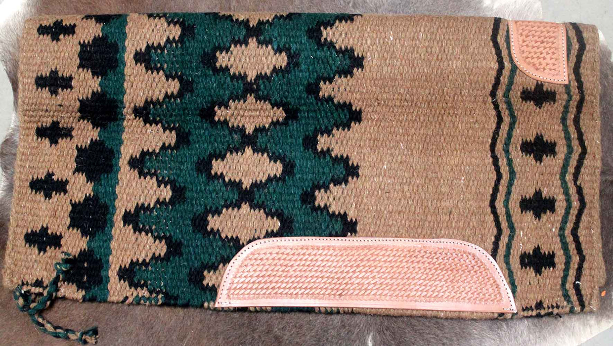 34x36 Horse Wool Western Show Trail SADDLE BLANKET Rodeo Pad Rug  36239