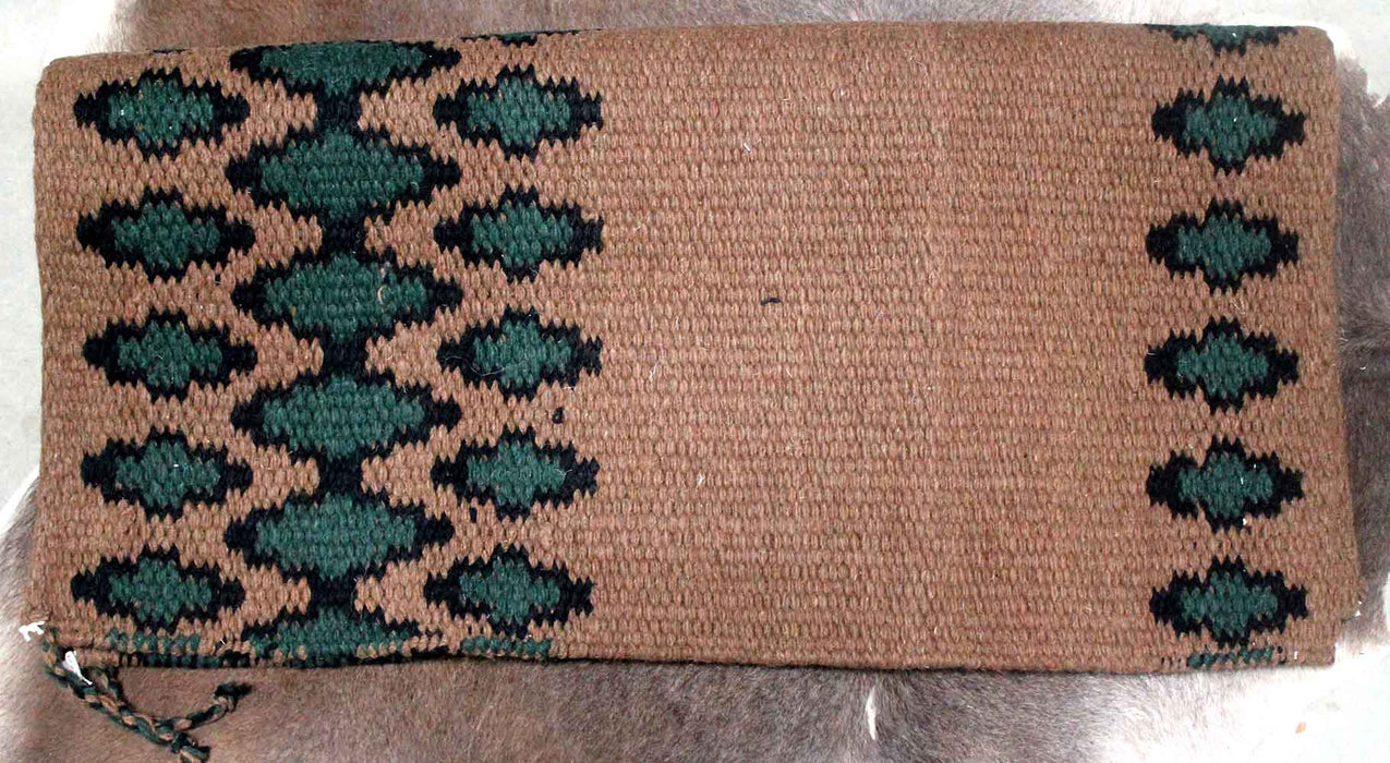 34x36 Horse Wool Western Show Trail SADDLE BLANKET Rodeo Pad Rug  36243