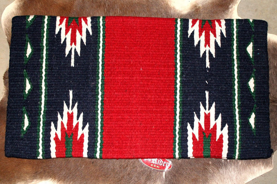 Horse Wool Western Show Trail SADDLE BLANKET Rodeo Pad Rug  36253