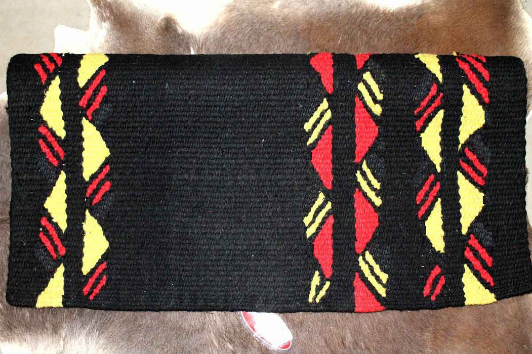 Horse Wool Western Show Trail SADDLE BLANKET Rodeo Pad Rug  36256