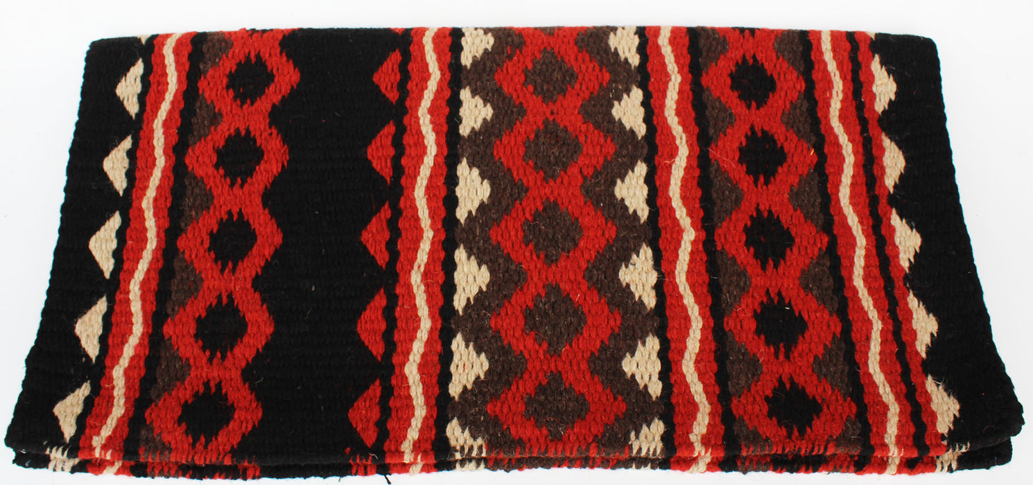 34x36 Horse Wool Western Show Trail SADDLE BLANKET Rodeo Pad Rug  36364