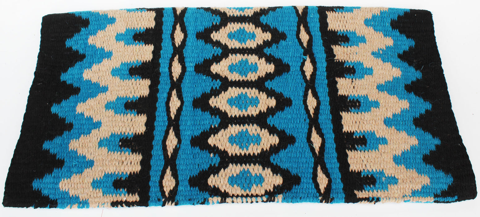 34x36 Horse Wool Western Show Trail SADDLE BLANKET Rodeo Pad Rug  36365