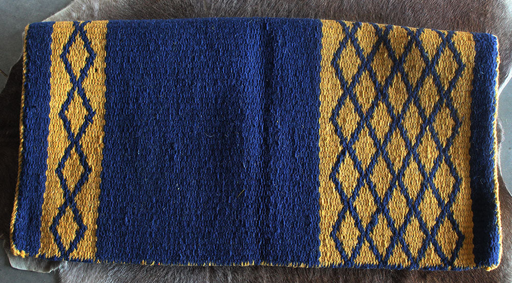 34x36 Horse Wool Western Show Trail SADDLE BLANKET Rodeo Pad Rug 3692