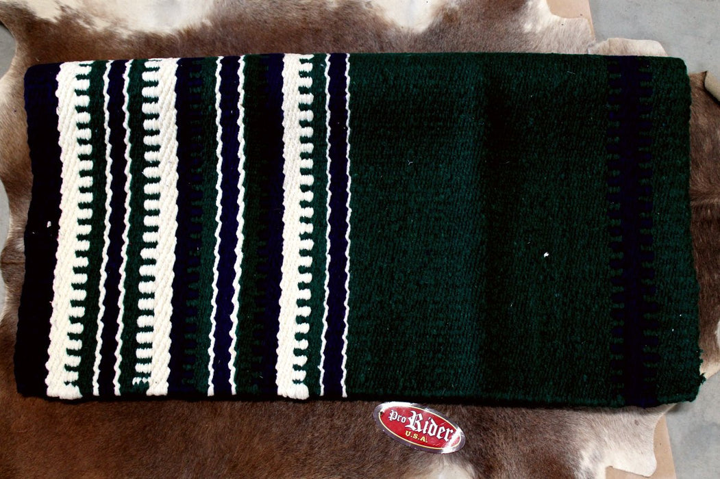 34x36 Horse Wool Western Show Trail SADDLE BLANKET Rodeo Pad Rug  36S141
