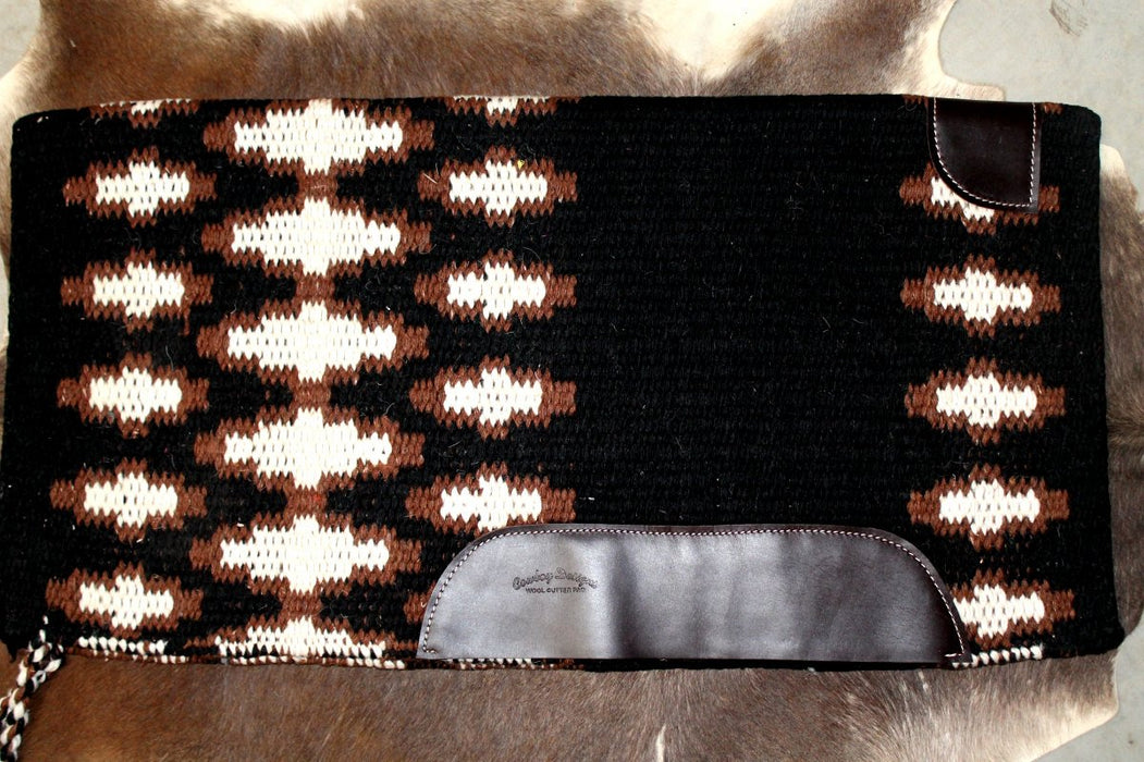 34x36 Horse Wool Western Show Trail SADDLE BLANKET Rodeo Pad Rug  36S147