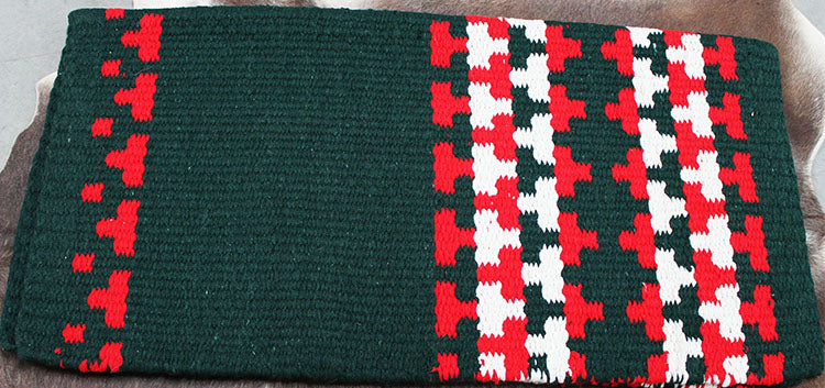34x36 Horse Wool Western Show Trail SADDLE BLANKET Rodeo Pad Rug  36S161