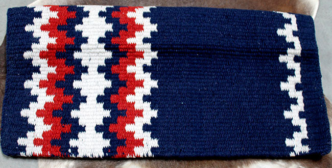 34x36 Horse Wool Western Show Trail SADDLE BLANKET Rodeo Pad Rug  36S162