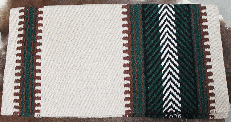 34x36 Horse Wool Western Show Trail SADDLE BLANKET Rodeo Pad Rug  36S181