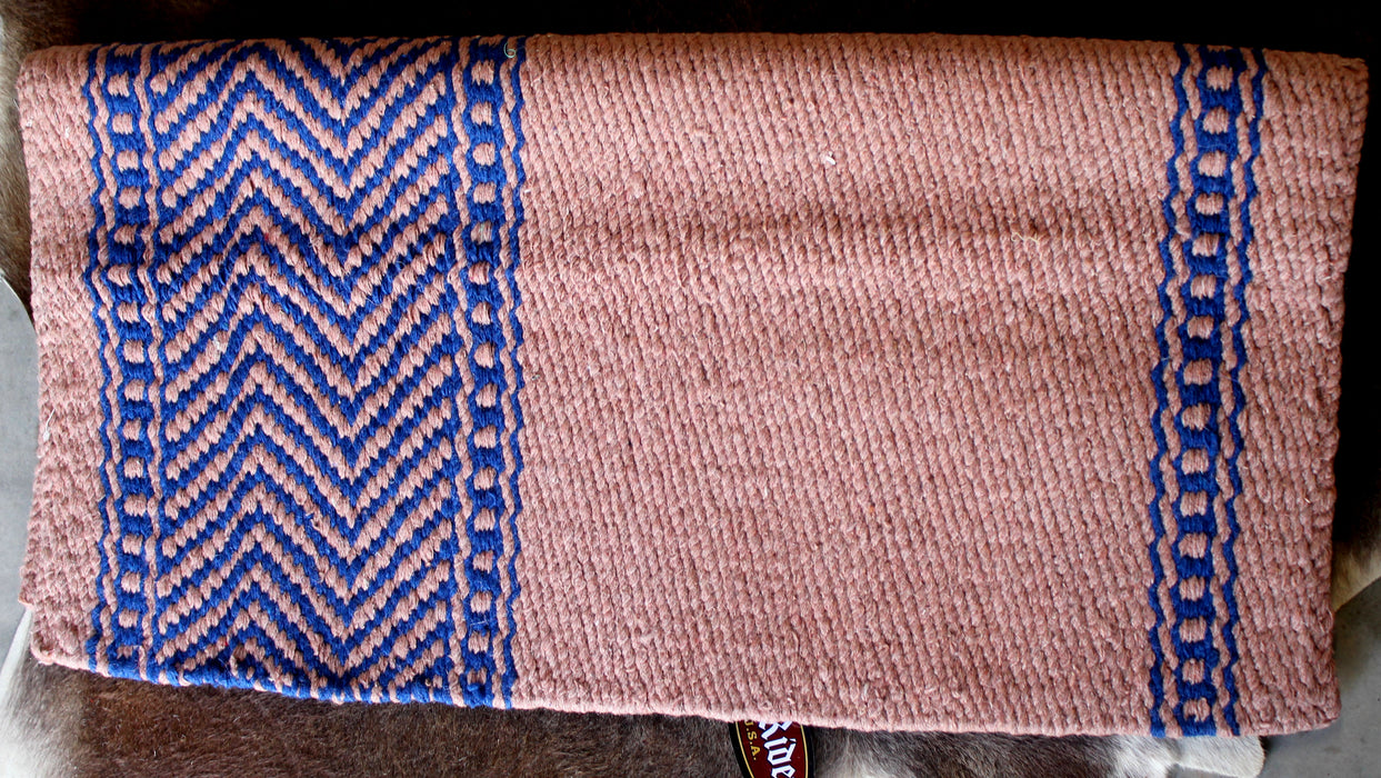 34x36 Horse Wool Western Show Trail SADDLE BLANKET Rodeo Pad Rug  36S252