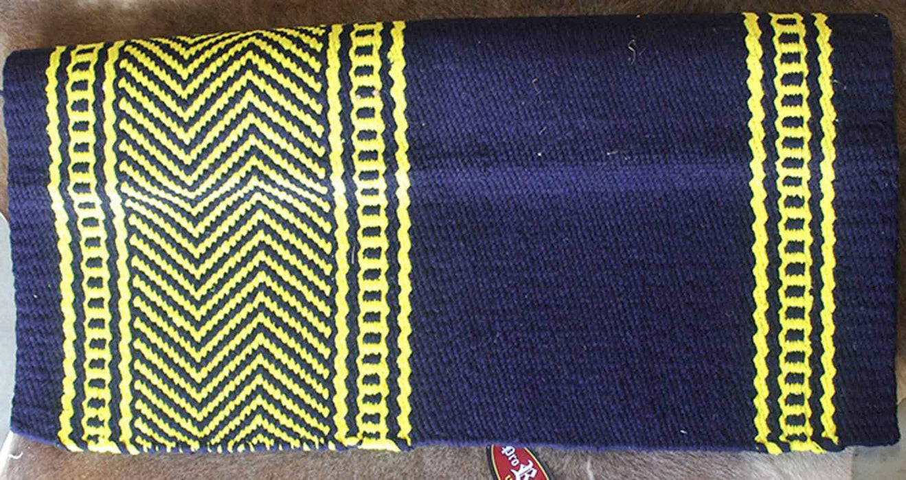 34x36 Horse Wool Western Show Trail SADDLE BLANKET Pad Rug  36S253