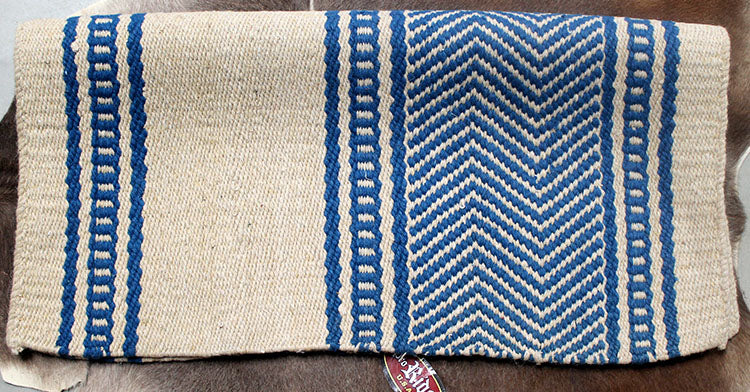 34x36 Horse Wool Western Show Trail SADDLE BLANKET Pad Rug  36S315